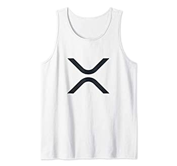 Ripple XRP Logo Cryptocurrency Moon Tank Top