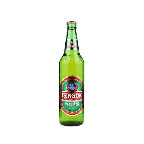 Birra TsingTao 640 ML 4,7° - CARTONE DA 12 BOTTIGLIE di Birra Nazione Cinese