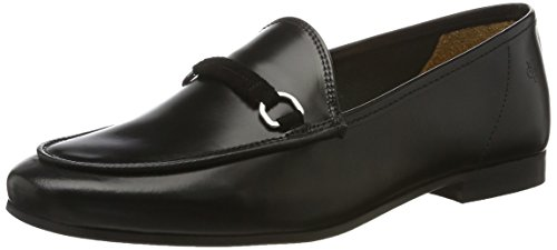 Marc O'Polo Damen 70113873201102 Loafer Slipper, Schwarz (Black), 38.5 EU