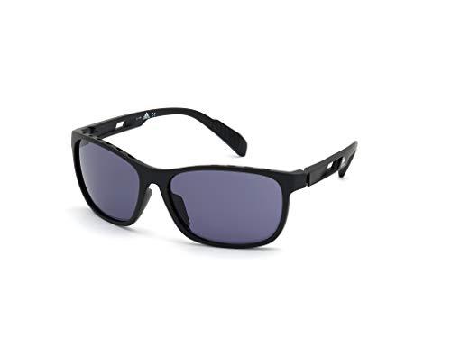 adidas SP0014 Gafas, Matte Black/Smoke, 62 para Hombre