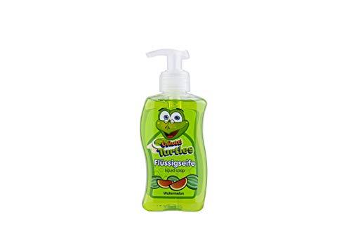 Colutti Turtles Liquid Soap 300ml - Kinderseife/Seife - speziell für Kinder entwickelt - Wassermelone - pH hautneutrale Pflege für Kinderhaut - Super Dufterlebnis für Kinder