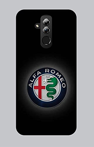 Funda blanda de TPU para Huawei Mate 20 Lite, coche moto 044 Alfa Romeo
