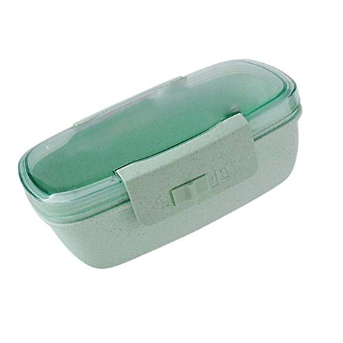 DDEHS Lunch-Box for Girls | Lunch Containers Mini Boxes for Toddlers Pre-School Kids | Best Eco-Friendly Leakproof Container