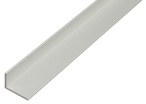 GAH-Alberts 473761 Winkelprofil aus Aluminium, 1000 x 40 x 20 mm, silberfarbig eloxiert