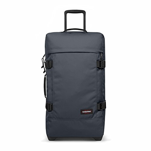 Eastpak Tranverz M Wheeled Luggage - 78 L, Midnight