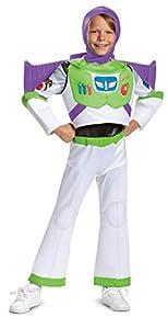 Disney Pixar Buzz Lightyear Toy Story 4 Deluxe Boys' Costume