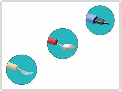 Schaumstoffgriffe Griffverdicker Greifhilfe verschiedene Größen, 3er-SET, klein / mittelgroß / groß
