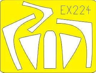 Eduard 1:48 A-10 Paint Mask for Hobby BOSS #EX224