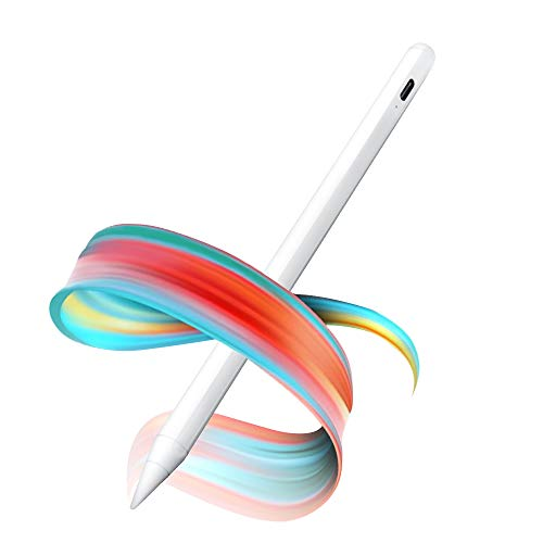 OUSMIN Stylus Pencil for iPad Digital Pen with Palm Rejection Compatible with iPad (2018-2019)/ iPad Pro 11''/12.9'' (2018/2020)/ iPad Air 10.5'' (3rd Gen)/ iPad mini 7.9'' (5th Gen)