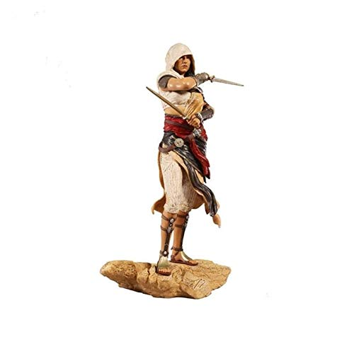 Jiaming Assassins Creed Orígenes Aya PVC Figura Modelo De Regalos - Altos 10.6 Pulgadas
