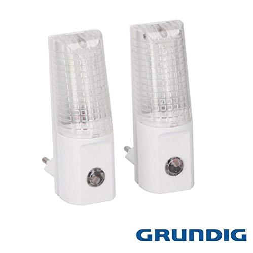 GRONDIG LED-nachtlampje, nachtlampje, stopcontactverlichting, IP20 lamp, verlichtingsset