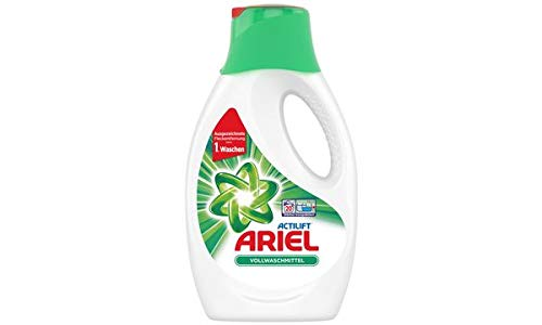 Ariel Vollwaschmittel Flüssig 1.1l, 20 Waschladungen