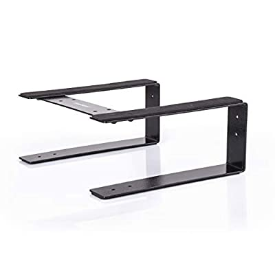 Reloop Laptop Stand Flat for DJs, Musicicans & Producers with Anti-Slip, Vibration Protection & Flexible Mount Position