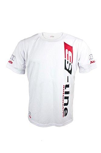 Audi S-line Automotive White T-Shirt (L)