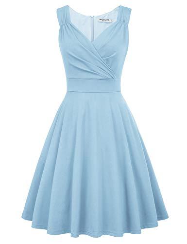 Petticoat Kleider Weihnachten Swing Kleid Vintage Kleider festlich Rockabilly Kleid CL698-19 M