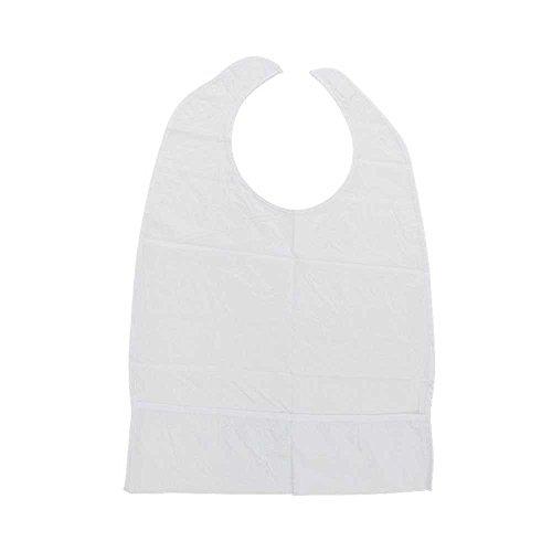 Behrend Schutz-Lätzchen, Esslätzchen, Sabberlatz, Servietten, Auffangtasche, Erwachsene, 40x60cm