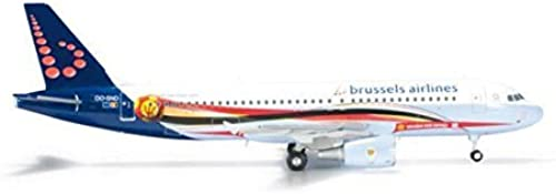 Herpa Brussels A320 1 200 rot Devils () by Daron
