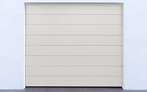 DoorHan Sektional Garagentor | zu Selbstmontage | Größen wählbar | 5 Farben (2500 x 2030, RAL 9010 (Reinweiß))