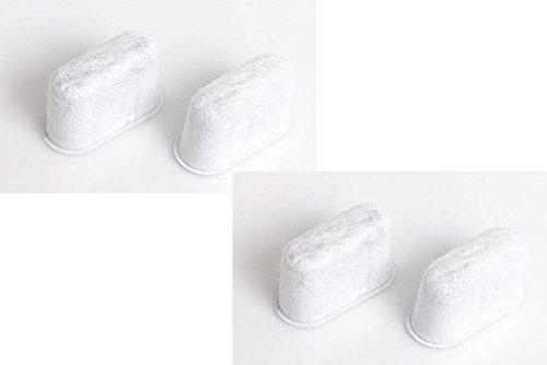 Delonghi 4 Filtres à eau anti-calcaire 5513214241 Pour cafetière BCO410 + 420