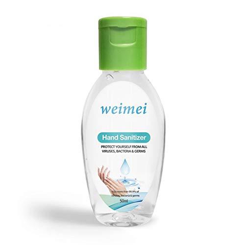 ARTIFUN 50ml Desinfección de Secado Rápido Gel de Lavado de Manos Antivirus Desechable Desinfectante de Manos Jabón Hnad sin Agua