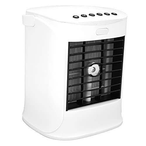 DWMD Condizionatore Portatile, 7 Colori Luci Mini Condizionatore Mini da Interno per Esterno