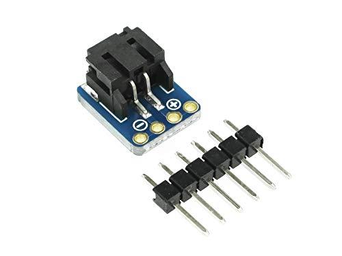 Adafruit JST-PH 2 pines SMT ángulo recto Breakout Board Mates perfecto con todas las baterías de 1 celda LiPoly, batería de iones de litio, soporte para pilas de 6 V, 3 pilas AAA 1862