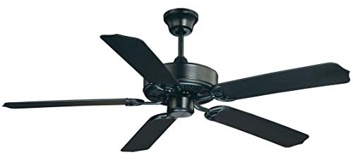 """Savoy House Nomad 52"""" Outdoor Ceiling Fan in Flat Black 52-EOF-5MB-FB"""