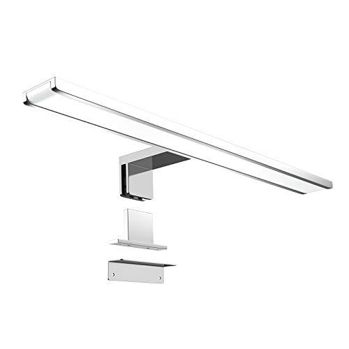 Monzana LED Spiegelleuchte 60cm Schrankleuchte 6500K Aufbauleuchte 120° Beleuchtung Spiegellampe Badleuchte Schminklicht