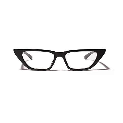 SNXIHES Sonnenbrillen Kleine Cat Eye Brillengestell Brillen Korn Oculos De Brillen Männer Frauen Optische Brillen Klar Computer Gaming Frame 1