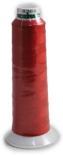 Madeira Poly Red 2000YD Serger Thread 91288380
