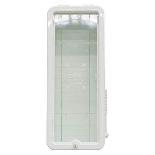 5# Fire Extinguisher Cabinet Indoor/Outdoor - White