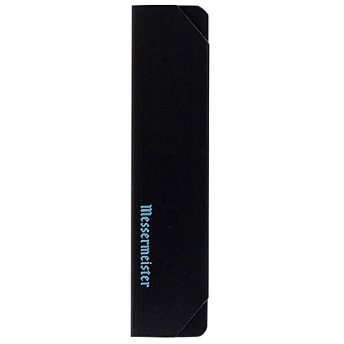Messermeister Chef's Knife Edge Guard, 8 Inch, Black