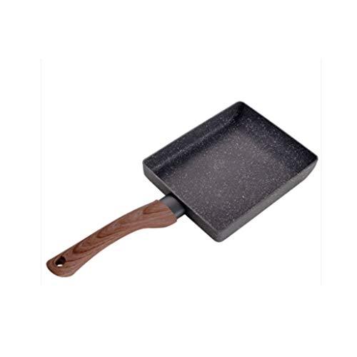 GZQDX Antiadhésive épais Oeuf Brûler Moule carré Mini Frying Pan Haute Performance Revêtement de Pierre Tous Les Jours de Cuisson Essentielle for Tous Cooker