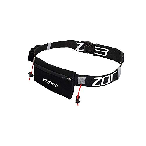 Zone3 Endurance Number Belt with Neoprene Fuel Pouch and Energy Gel Storage