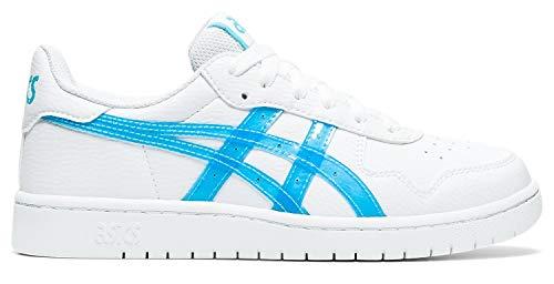ASICS - Kinder Japan S Gs Schuhe, 39 EU, White/Aquarium