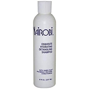 Nairobi Exquisite Hydrating Detangling Shampoo for Unisex 8 Ounce