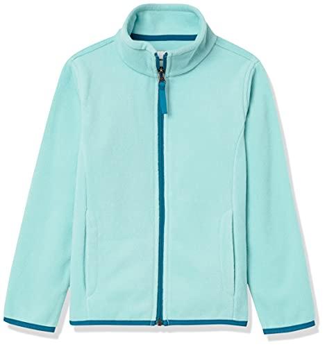 Amazon Essentials Polar Fleece Full-Zip Mock Jackets Chaqueta, Aguamarina/Verde Azulado, S