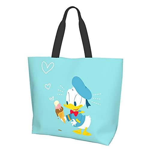 Little Duck Bolsa de conveniencia con un solo hombro, casual y versátil, ideal para ir de compras, trabajo y escuela a diario