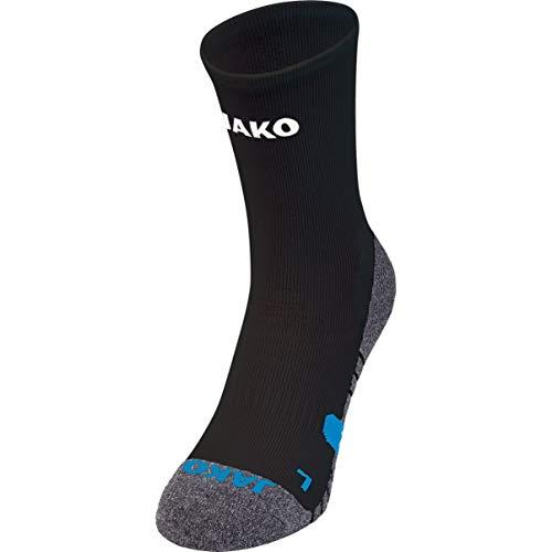JAKO Trainingssocken Socken, schwarz, 5 (43-46)