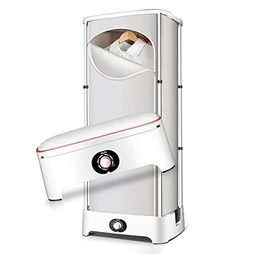 HRD Secadora de Ropa eléctrico portátil Secadora 900W Puede soportar 10 kg extraíble Button Temporización con Dispositivo a Prueba de Polvo para Viaje Negocios apartamento (Size : Ordinary Paragraph)