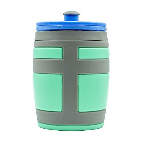 16 oz Guzzle Jug Water Bottle   BPA-Free Non-Slip Grip Bottle Videogames Gaming Battle Royale Kids Gamers