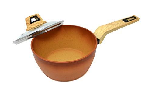 Amercook Cazo Terracotta con Tapa 18 cm