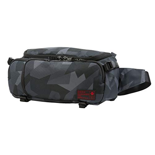 Hex Ranger DSLR Sling, with Adjustable Carry Straps, Collapsible Interior Dividers & More, Glacier Camo