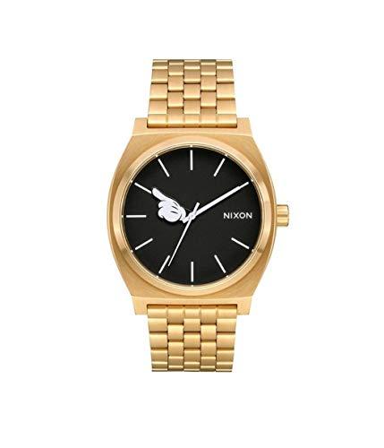 Nixon Reloj Analógico para Mujer de Cuarzo con Correa en Acero Inoxidable A045-3097-00