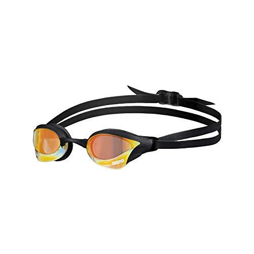 ARENA Schwimmbrille Cobra Core Swipe Mirror Schwimmbrille Unisex Erwachsene Einheitsgröße Kupfergelb