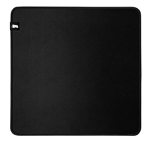 Monolith M-330: Classic Mouse Pad - L Pro Gaming Mouse Pad, Durable Cloth Surface, Stitched Anti-Fray Edge   13x13x0.2'   330x330x5mm (M-330: Classic)