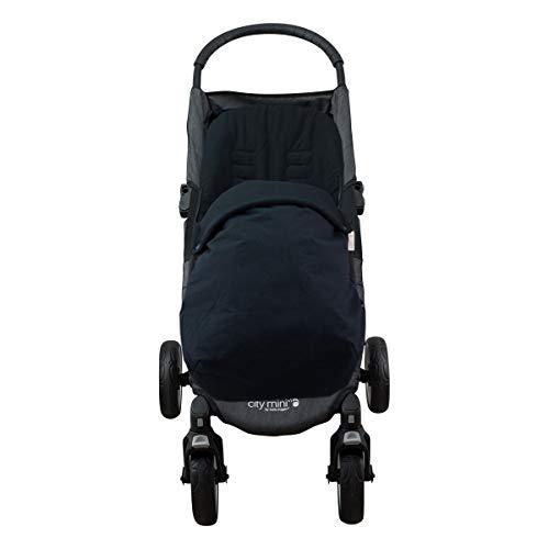 JANABEBE Saco para Baby Jogger City Mini Joolz BLACK SERIES, ALGODÓN