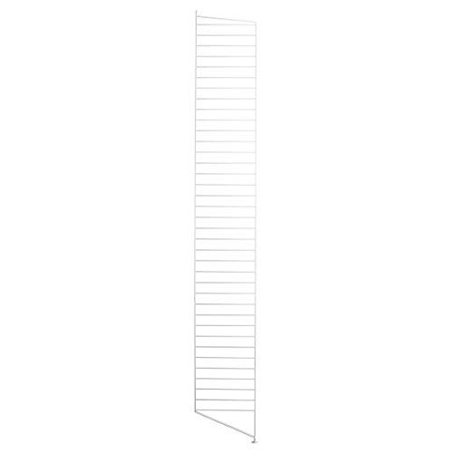 String - Bodenleiter Regal 200 x 30 cm, weiß