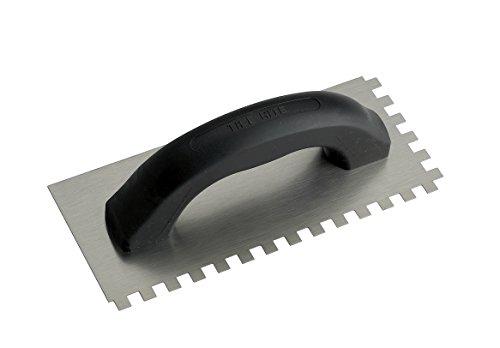 Tile Rite enm1198mm economía llana dentada rectangular enlosadores, gris
