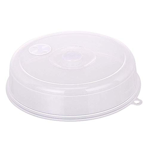 FEE-ZC Kühlschrank ölbeständig Mikrowellen-Deckel mit Dampfentlüftungsöffnungen Frischhaltedeckel Stapelbarer Mikrowellen-Spritzschutz Dichtungsscheibe
